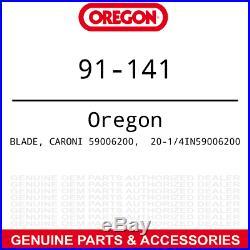 Oregon 91-141 20-1/4 Mulching Blade Caroni TC590N Finish Grooming Mower 6-PACK