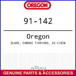 Oregon 91-142 24-1/8 Mulching Blade Caroni TC710N Finish Grooming Mower 3-PACK