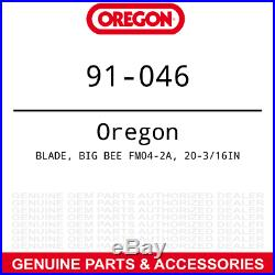 Oregon LH Mulching Blade Big Bee 60 Deck 5ft Finish Grooming Mowers A-19B20 3PK