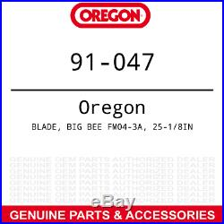 Oregon LH Mulching Blade Big Bee 72 Deck Finish Grooming Mowers A-19B25 6PACK