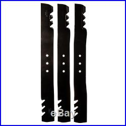 Replacement 22.5 inch Blade Set for 66 inch Lawn Mowers Finish Cut Swisher Home