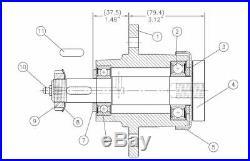 Servis Rhino Finishing Mower Blade Spindle code 00775271 (01-282) Free ship