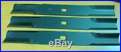 Set/3 84 blades for BUHLER FARM KING grooming/finish mowers replaces # 966167