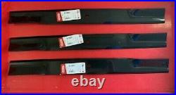 Set/3 Blades for Bush Hog ATH720 72 Grooming Finish Mowers 88773 Made in USA