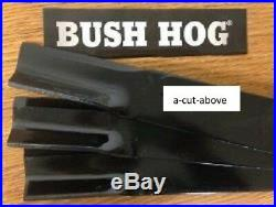 Set/3 Bush Hog 82325 finishing mower blades ATH720/FTH720/RDTH72/TH72