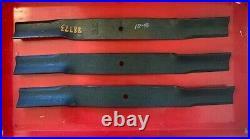 Set/3 OEM Bush Hog 88773 72 Finish Mower Blades
