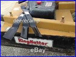 Set/3 replacement blades for King Kutter 72 finishing grooming mowers 502324