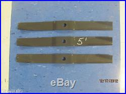 Set Of 3 5 Foot Sitrex Finishing Mower Blades-60 Replaces Sitrex#100.065
