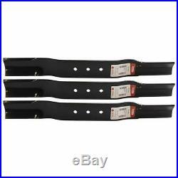 Set Of 3 Blades For Swisher T-60 Finish Trail Mower 3293 9004 B40L-1 91-050