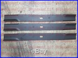 Set of 3 Blades for Buhler Farm King 84 Cut Finish Mower code 966167