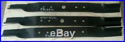 Set of 3 Blades for Land Pride 84 Cut Finish Mowers, Code 890-684C