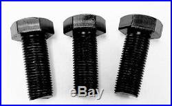 Set of 3 Replacement King Kutter Finish Mower Mounting Blade Bolts Part # 502310