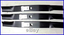 Set of 3 Woods finish mower blades 72 L306 RM306 RM600 13404 31306 13404KT