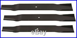 Set of 3 blades Frontier GM2084 84 grooming finish mower replaces #5BP0006690