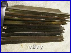 Set of 9 Blades for Buhler Farm King Cut Finish Mower code 966273