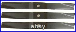 Sitrex 60 Finish Mower Blades, Set of 3 Code 100.065 Fits SM 150 Mowers