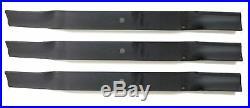 Tarter 502324 6' Finish Mower Blades Set of 3