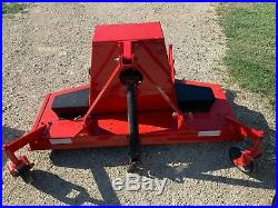WOODS 59 Finish Mower, Brand new belt, 3 blades, paint LOCAL PICKUP/DELIVERY ONLY