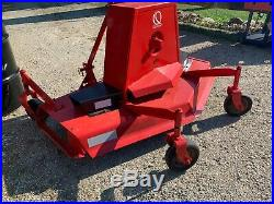 WOODS 59 Finish Mower, Brand new belt, 3 blades, paint and works good