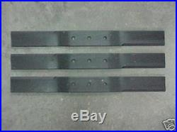 Woods Rd7200 Finish Mower Blade Kit Double Bolt Low Suction Oem 1001511kt