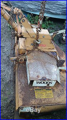 WOODS RM600 6 FT 3 POINT HITCH FINISH MOWER with New Blades