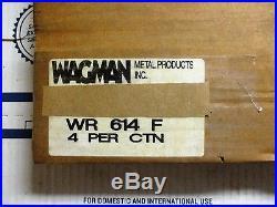 Wagman WR-614-F Power Trowel Blade Finish 6 x 14 (Lot of 4)