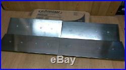 Wagman WX-618F Silver Finish Trowel Blade 6 x 18 4 Pack