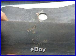 Woods 53555 53555KT Finishing Mower Blade Set of 3 for 72 OEM
