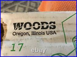 Woods Blade Kit (Set of 6) For Woods Finish Mower CCW Blade Kit 24590KT New