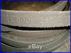 Woods Finish Cut Mower Blade Drive Belt Part # 29344 Models RM90 P90