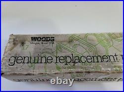 Woods Finish Mower Blades 58731 / 6315B New Open Box