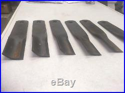 Woods Finish Mower Replacement Blade Kit (Set of 6) 24590