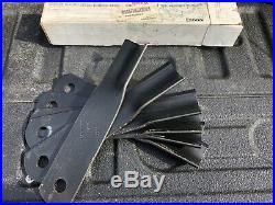 Woods MR990 Finish Mower Blades. Part Number 24590KT