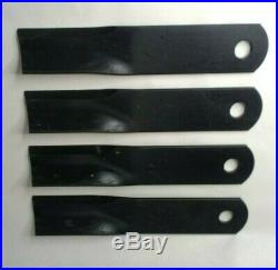 Woods Rd990 Finish Mower Blades Part# 29186 Qty 4
