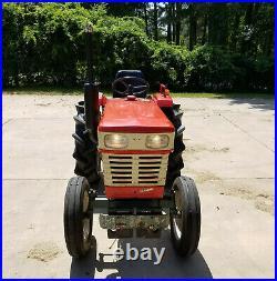 Yanmar YM2000 Tractor, Finishing Mower, & Blade